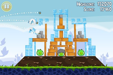 لعبة الطيور الغاضبة Angry Birds