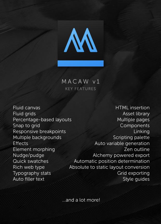 خصائص_مكاو_Macaw