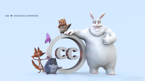 Creative Commons 3D animation movies