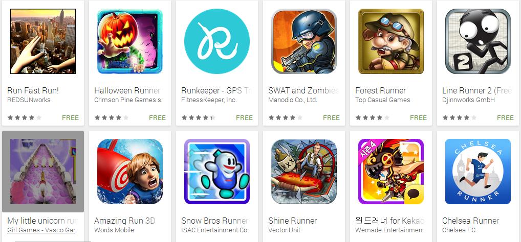 هناك عدد هائل من ألعاب الجري في متجر تطبيقات جوجل