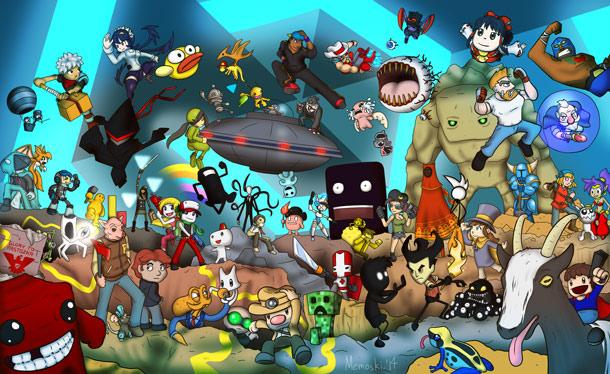 لا يمكن إنكار الفكرة الغريبة والمضحكة والعبقرية والمميزة في هذه الألعاب!